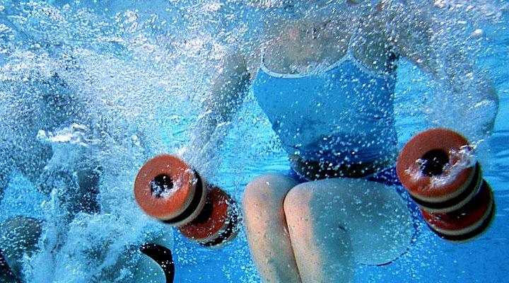 Акваэробика - лучший летний фитнес